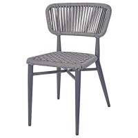 Madrid Outdoor Side Chair - Grey