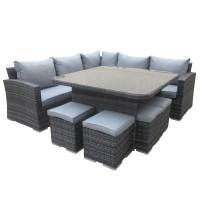 Mauritius Grey Outdoor Sofa Set