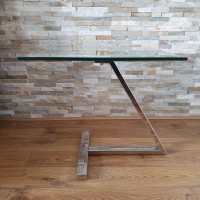 Modern Contemporary Glass Coffee Table