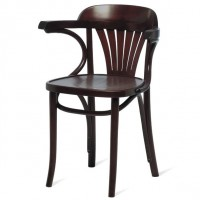 Bentwood Norma Arm Chair - Walnut