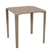 Taupe Stackable Outdoor Table
