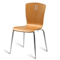 Pelon Natural Side Chair