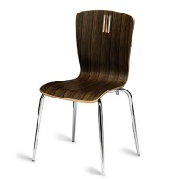 Pelon Wenge Zebrano Side Chair