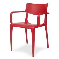 Porto Stackable Outdoor Armchair - Cherry