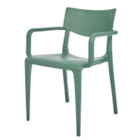 Porto Stackable Outdoor Armchair - Green