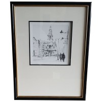 Ex Hotel Black & Gold Framed Prints