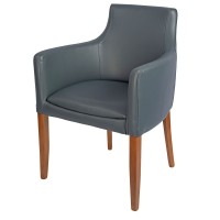 Repton Arm Chair Oak / Grey