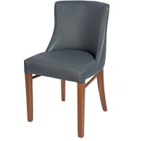 Repton Side Chair Oak / Grey