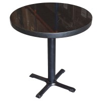 Round Stone Topped Table