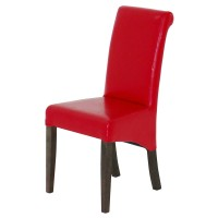 Scrollback High Back Dining Chair
