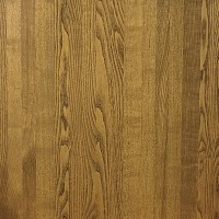 25mm Solid Ash Table Top - Medium Oak