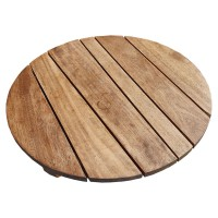Rustic Round Solid Wood Table Tops 70cm