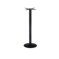 Solitaire Round Small mid height Table Base