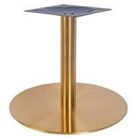 Sphinx Large Coffee Height Table Base Vintage Brass