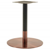 Sphinx Small Coffee Height Table Base Rose Gold & Black