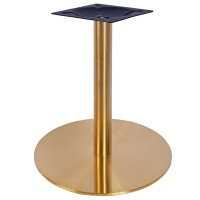 Sphinx Small Coffee Height Table Base Vintage Brass
