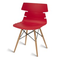 Thames Red Side Chair