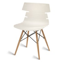 Thames White Side Chair