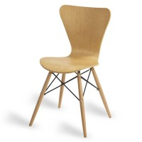 Torino Natural D Frame Cafe Chair