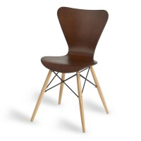 Torino Wenge D Frame Cafe Chair