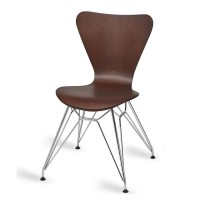 Torino Wenge N Frame Cafe Chair