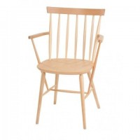 Traditional Style Pub Chair 4D