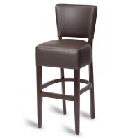Hyde Luxe Bar Stool - Mocha