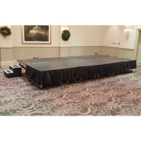 Burgess Centrefold Platform Stage Set of 4 - Dual Height - Used