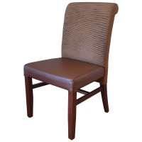 Used Solid Wood Upholstered Restaurant Chair