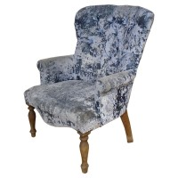 Used Luxury Upholstered Armchair