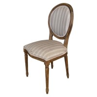 Used Ex Restaurant Louis Chairs - Striped