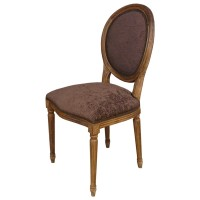 Used Ex Restaurant Louis Chairs - Brown