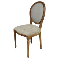 Used Ex Restaurant Louis Chairs - Pale Green