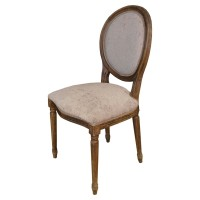 Used Ex Restaurant Louis Chairs - Beige
