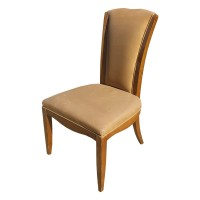 Used Leather Upholstered Side Chair