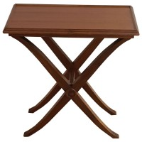 Used Small Wooden Side Table