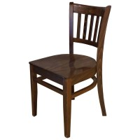 Used Houston Side Chair with Wooden Seat