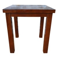 Used Solid Wood Restaurant Dining Table 70x70cm
