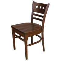 Used Dalton Side Chair with Wooden Seat