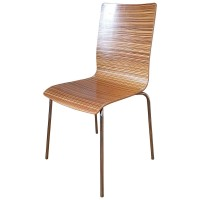 Used Zebrano Cafe Side Chairs