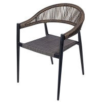 Vienna Outdoor Arm Chair - Stackable