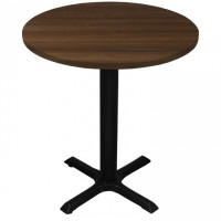 Walnut Complete Samson 60cm Round Table