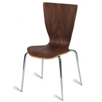 Davos Side Chair - American Walnut