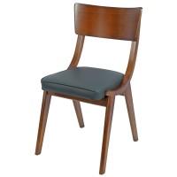 Wave Side Chair Oak / Grey