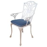 Norfolk White Armchair