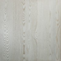 Antique White Solid Wood Ash Table Top Sample