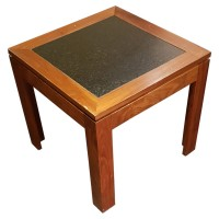 Ex Hotel Wood and Stone Top Coffee Tables