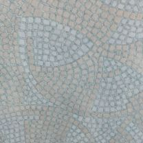 1200mm Round Blue Mosaic Werzalit Table Top