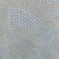 1200mm Round Blue Mosaic Werzalit Table Top