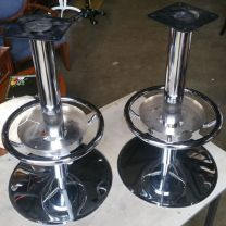 Two Stool Bases